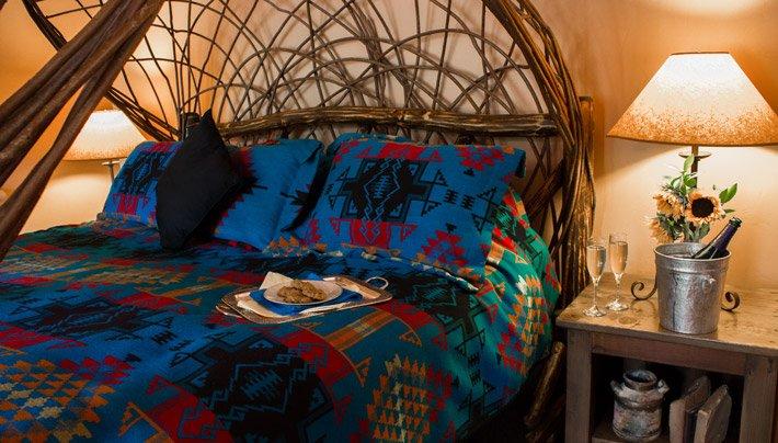Bed Adobe Village Graham Inn