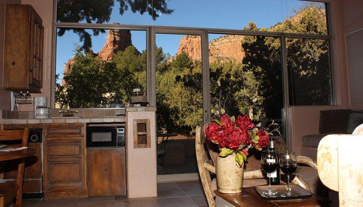 Kitchenette Sunset Adobe Village Graham Inn