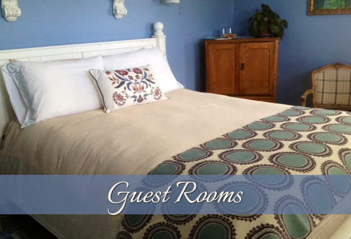 Guest Rooms at The Carlton Inn B&B in Carlton, Oregon