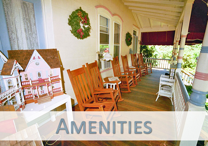Amenities at Antoinette's Guest Apartments and Suites in Cape May, NJ