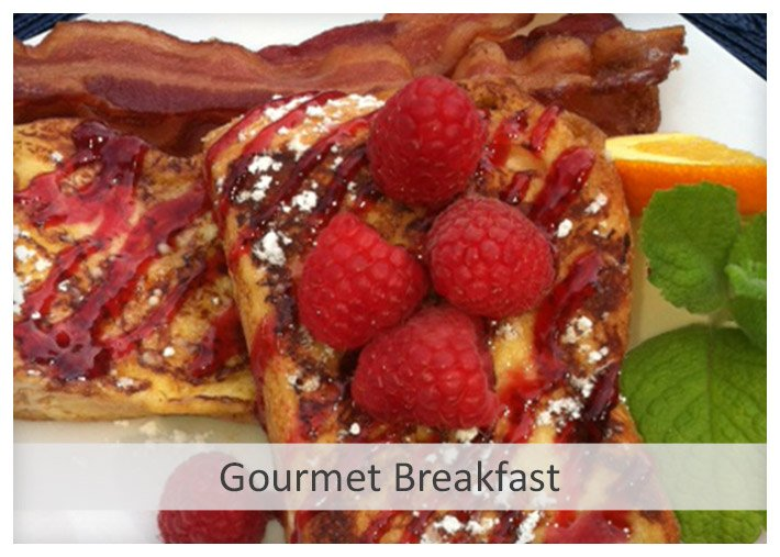 Gourmet Breakfast at Sea Meadow Inn in Brewster MA