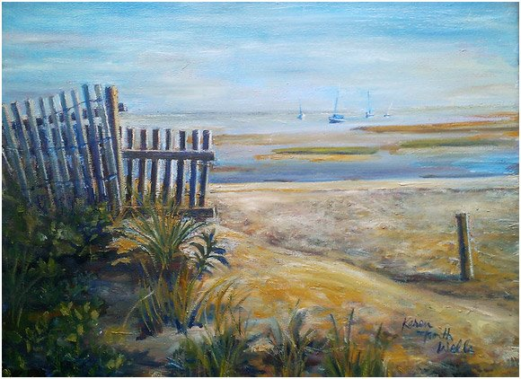 Karen North Wells  cape cod paintings