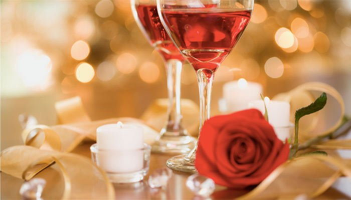 Valentines day at Sea Meadow Inn in Brewster, MA
