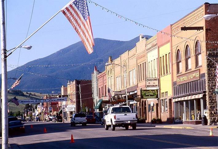 Red Lodge, Montana near the Crossing B&B Photo by Velela