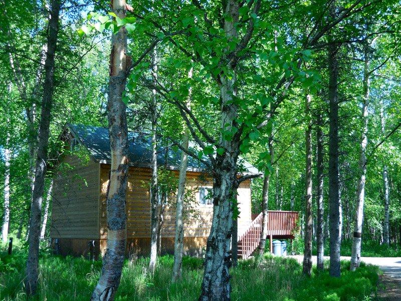 Cabin Wassila Creek Locaiton