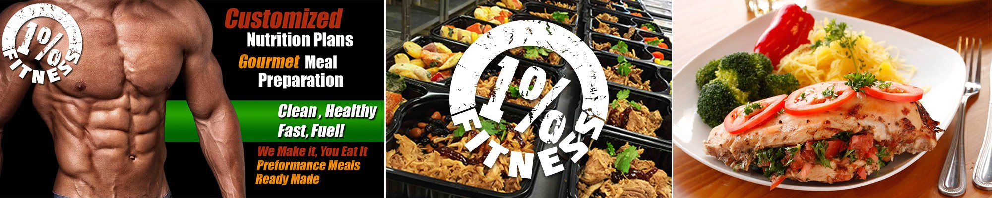 1% Fitness Meal Preparation