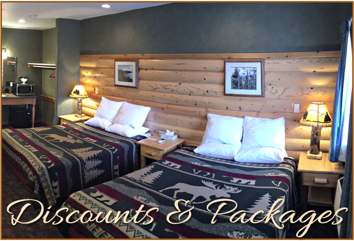 Discounts and Packages at Madison Hotel in West Yellowstone, MT