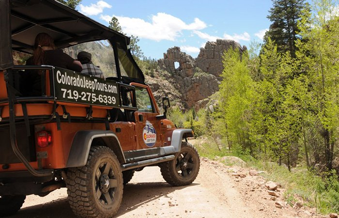 Jeep Tours in Colorado