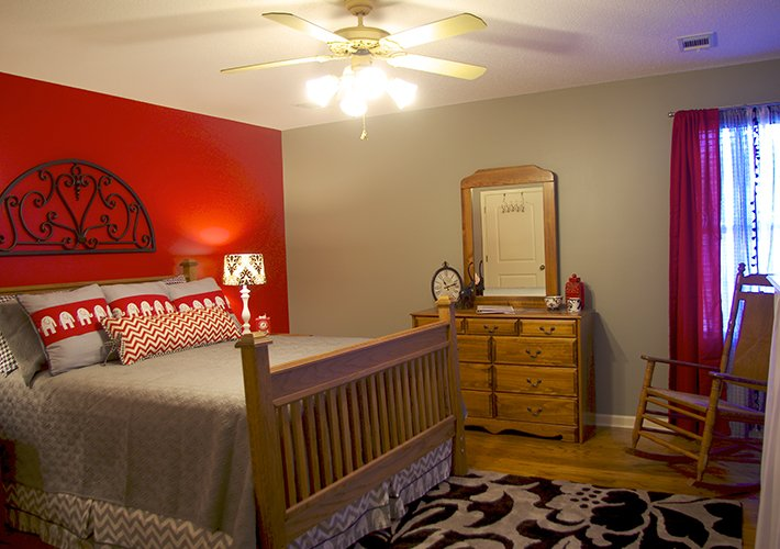 Guest Suite at Bama B&B Campus Location in Tuscaloosa, Alabama