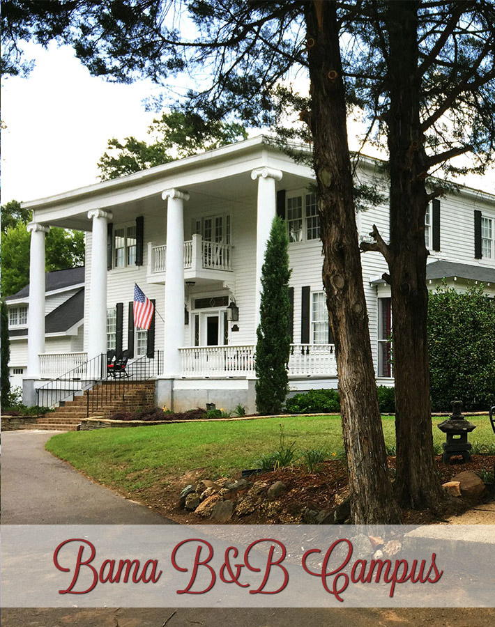Bama B&B Campus Location in Tuscaloosa Alabama