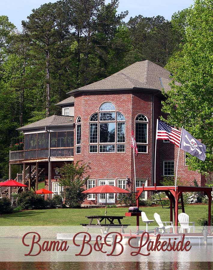 Bama B&B Lakeside Location in Tuscaloosa, Alabama