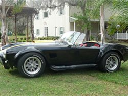 shelby cobra rental