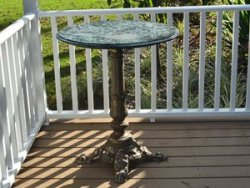 Perching Low Table Package Rental at Danville B&B