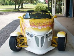 Prowler Roadster Rental at Danville B&B