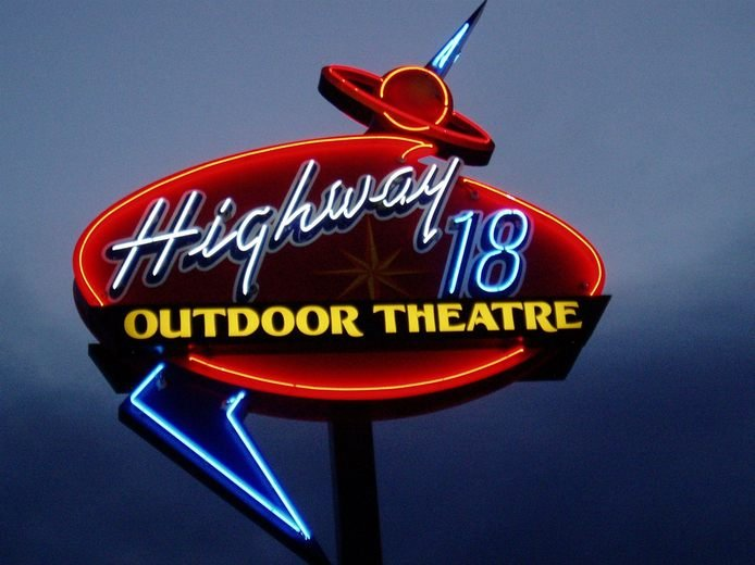 Highway 18 Outdoor Theater