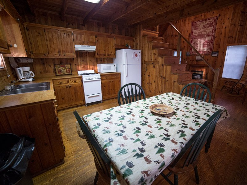 Dining Area of a Cabin