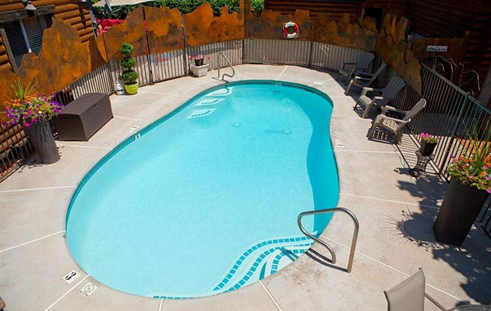 Pool at Canyons Boutique Hotel in Kanab, UT