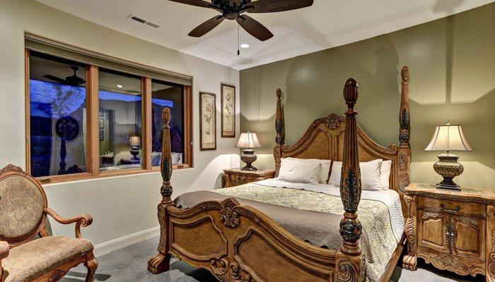 room at Phoenix House in Toquerville, UT