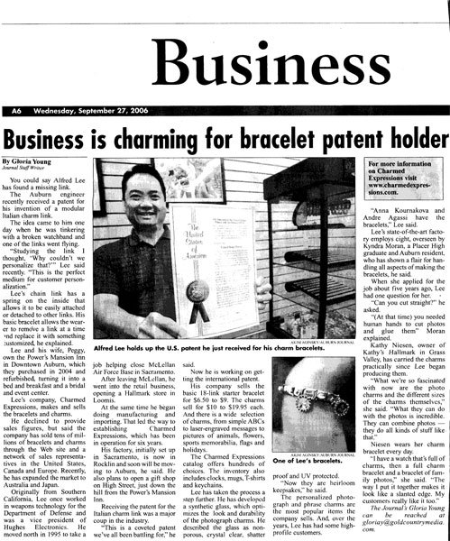 Auburn Journal, Business Section, Sept. 2006