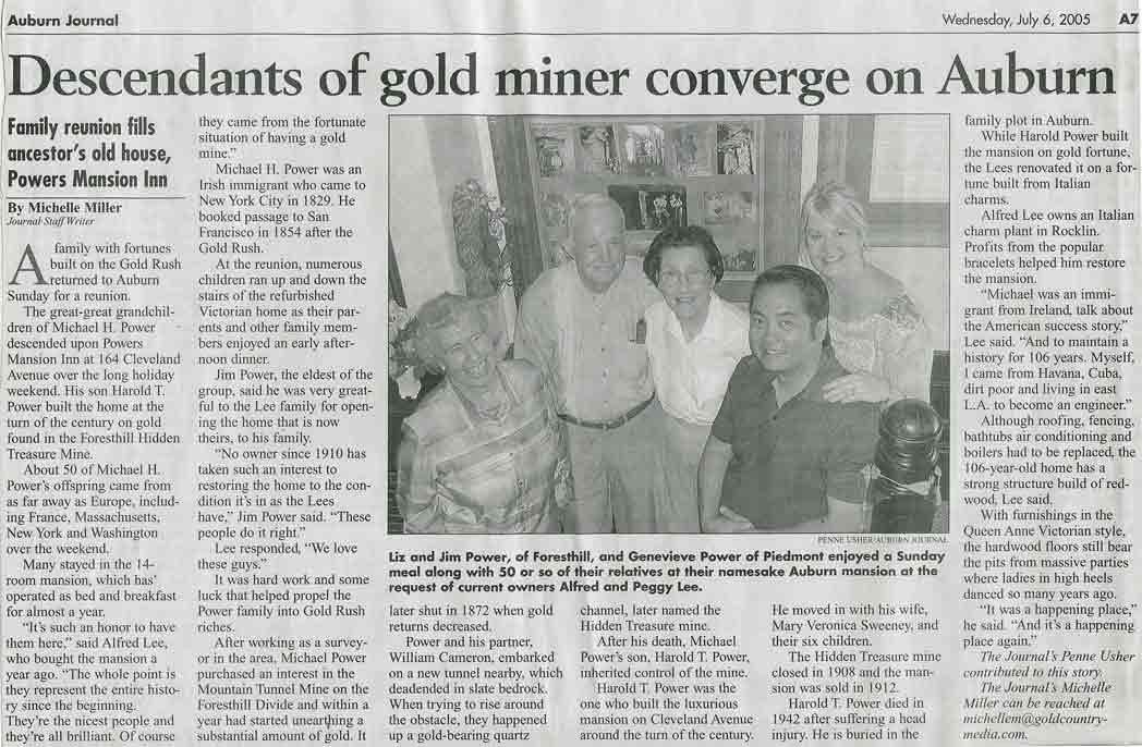 Auburn Journal, July 6, 2005