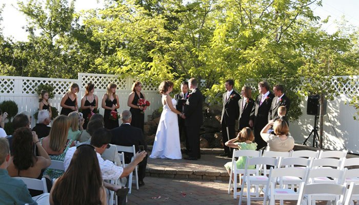 Weddings at Power Mansion Inn in Auburn, CA