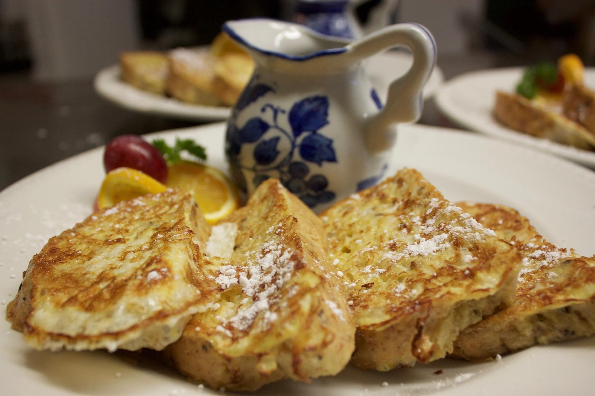 breakfast at Tattingstone