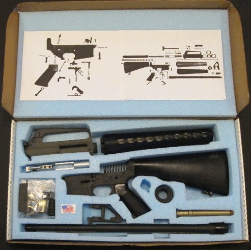AR15 Build Box Complete Full