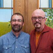 Owners Gordon Watkins and Frank Balazi at The Inn at 410