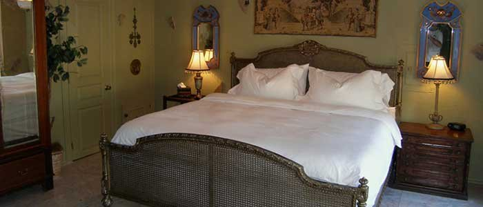 Guest Rooms at Elm Creek Manor
