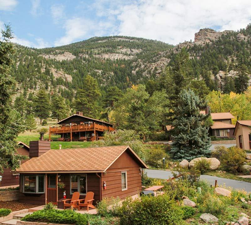 McGregor Mountain Lodge near Estes Park, CO