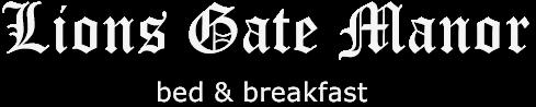 Lions Gate Manor Logo