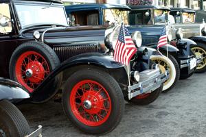 Antique Car Show in North Idaho