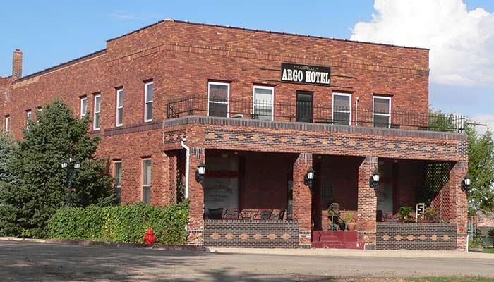 Historic Argo Hotel in Crofton, Nebraska