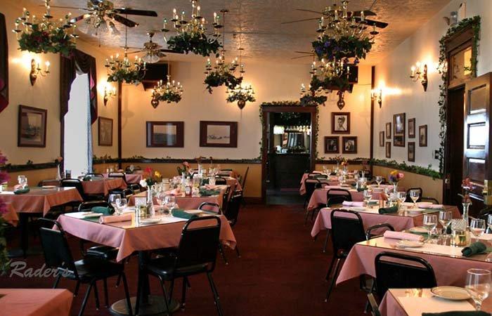 Leslie Brooks Dining Room at Historic Argo Hotel