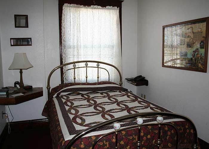 Lewis & Clark Suite at Argo Hotel in Crofton, Nebraska