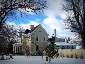 A Storybook Inn in winter