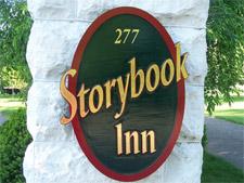 Storybook Inn address sign