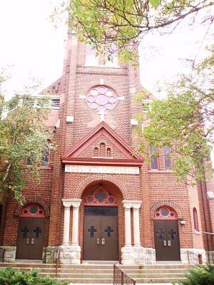 the chapel of the archangels front doors