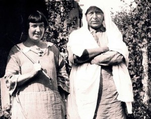 Mabel Dodge and Tony Luhan