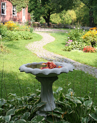 Birdbath at Inns of the Valley