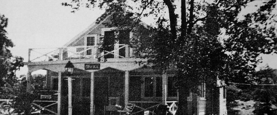 Historic Photo Of Prescott Pines Inn In Prescott Arizona