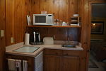 Prescott Pines Lodging Kitchenette