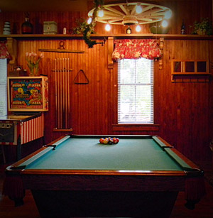 Carriage House Billiards table