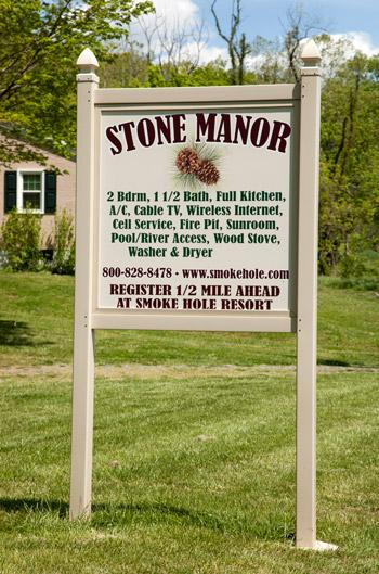 Stone Manor Lodging at Smoke Hole Resort