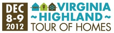 Virginia Highland Tour of Homes 2012 logo