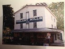 white amish house