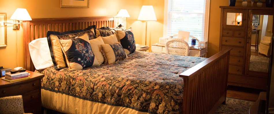The Virginia Highlands Bedroom at Harmony Hill Bed and Breakfast