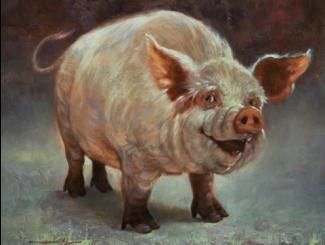 Dave Merrill Art Farm Animals