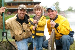 Fishing at Smoke Hole Resort