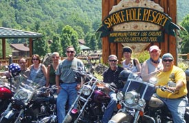 Motorcyle Tours at Smoke Hole Resort